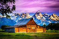 """Moulton's Barn"" - Grand Teton NP"