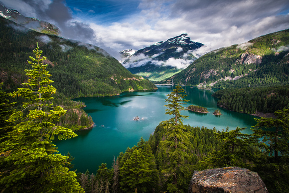 """Diablo Lake III"" - North Cascades NP"