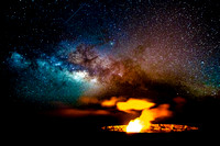 """Milky Way Volcano"" - Hawaii Volcanoes National Park"
